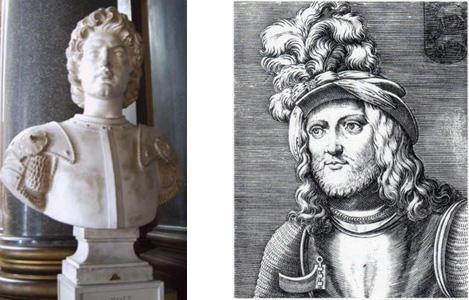 ritratti idealizzati di Gaston de Foix