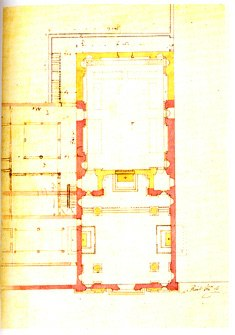 Progetto del Richini per il restauro di S. Marta del 1621-24