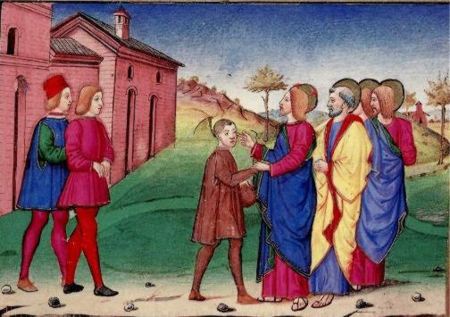 Guérison d'un sourd-bègue - Évangile du 6 septembre 2009 dans images sacrée de_predis1