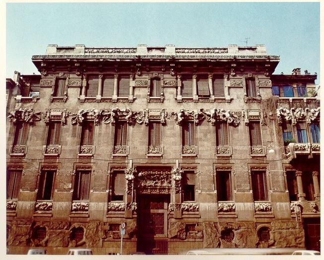 Storia di milano palazzi e case liberty for Palazzi di una storia