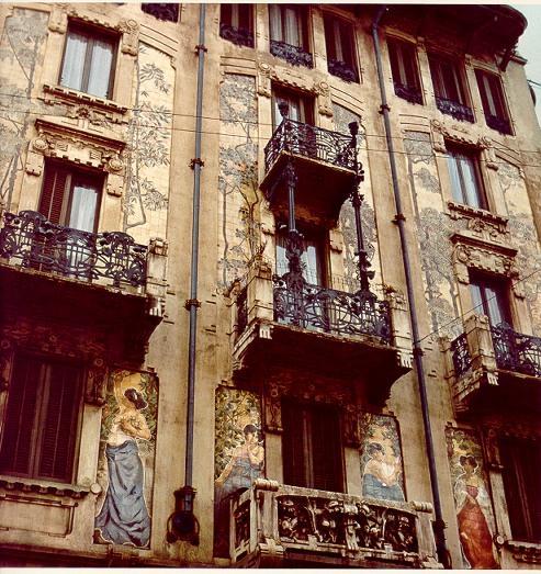 Storia di milano palazzi e case liberty - Casa stile liberty ...