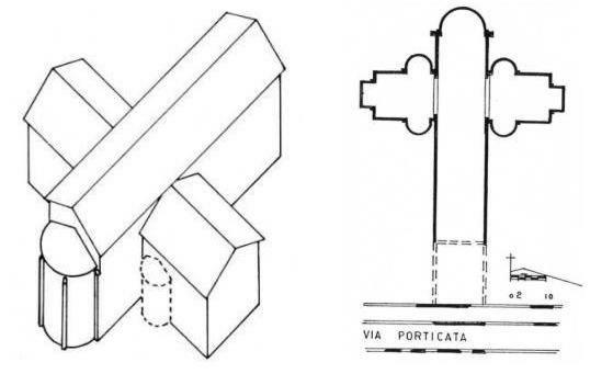 Storia di milano porta romana 5 for Planimetria interna