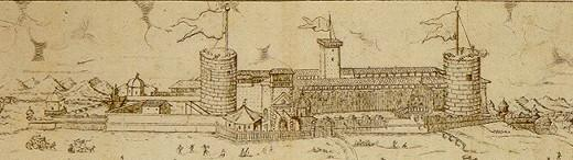 Il Castello nel XVII secolo
