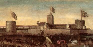 Il Castello nel XVIII secolo