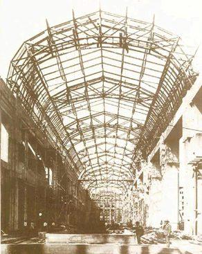 Центральный вокзал Милана. Стальная крыша