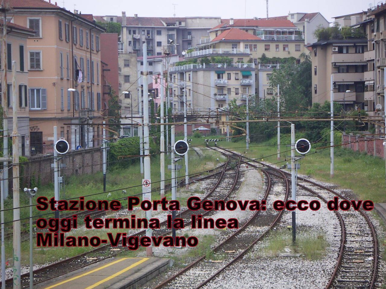Storia di milano alle origini della ferrovia - Treni vigevano milano porta genova ...