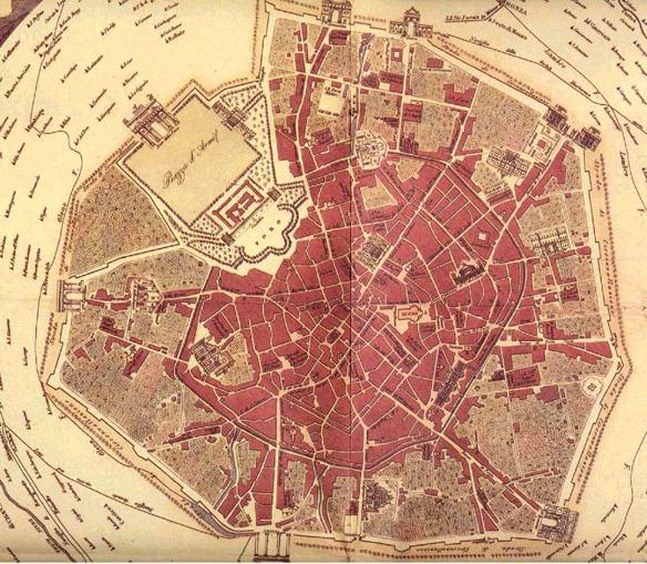 Cartina Milano 800.Storia Di Milano Strade