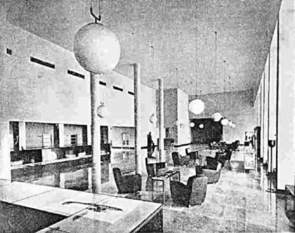 Storia di milano linate e malpensa for Scrivania ufficio anni 50